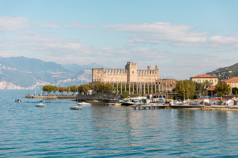 Castle of Lake Garda
