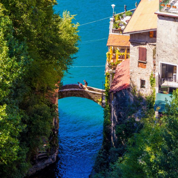 Little bridge, Lake Como