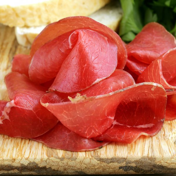 Bresaola from Valtellina