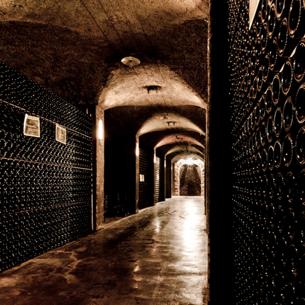 Franciacorta wine storage