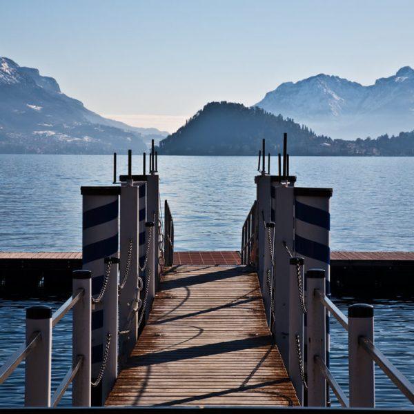 Lake Como pier