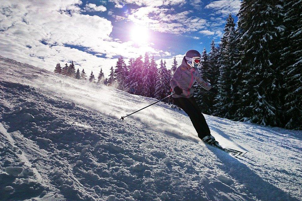 Skiing at Lake Como