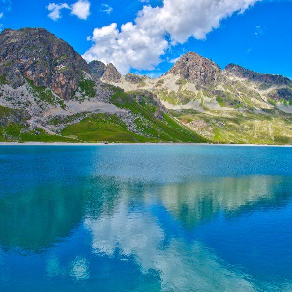 Saint Moritz 's mountain