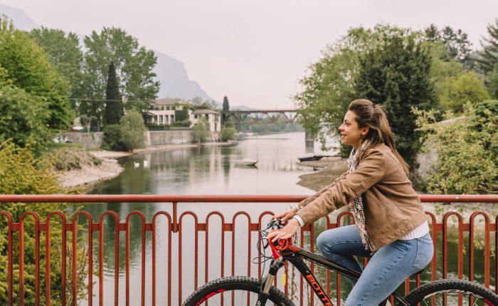 Biking in Lecco
