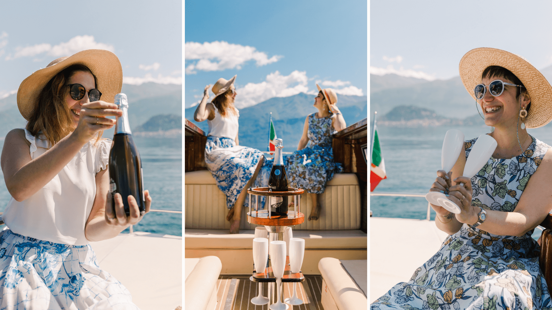 Celebrating your stay in Lake Como
